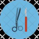 Medical Surgery Scalpel Icon