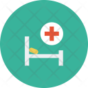 Medical Hospital Bed Icon