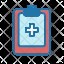Medical Record Medic Icon