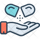 Medical Tablet Pill Icon