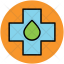 Medical Cross Blood Icon