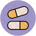 Medical Drugs Capsules Icon