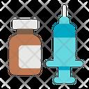 Medical Medicine Syringe Icon