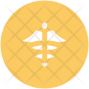 Medical Symbol Caduceus Icon