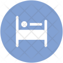 Medical Bed Ward Icon
