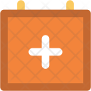 Medical Calendar Examination Icon