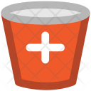 Medical Pail Sandbox Icon