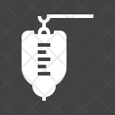 Medical Drip Bottle Icon