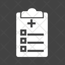 Medical Chart Clipboard Icon
