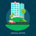 Medical Center Hospital Icon