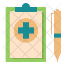Medical Report Document Icon
