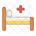 Patient Bed Medical Icon