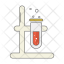 Blood Beaker Test Tube Icon