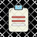 Prescription Clipboard List Icon