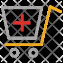 Medical Cart Supply Icon