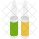 Medical Ampoule Injection Vaccine Icon