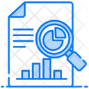 Medical Analysis Report Data Explore Icon