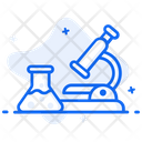 Medical Analytics Experiment Research Icon