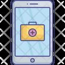 Digital Medicine Healthcare App Medical Map Icon
