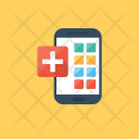 Mobile App Health Icon