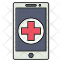 Mobile Emergency Healthcare Icon