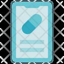 Pharmacy Smartphone Medicine Icon