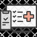 Medical Website Medicine Icon