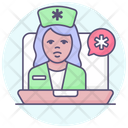 Digital App Stethoscope Icon