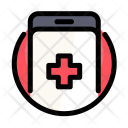 Medical Cross Smartphone Icon