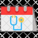 Medical Calendar Medical Calendar Icon
