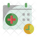 Medical Appointment Appointment Time And Date Icon