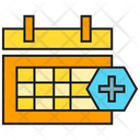 Medical Appointment Medical Calendar Icon
