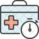 Medical Suitcase Wait Icon