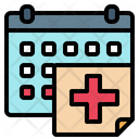 Medical Appointment Healthcare Time And Date Icon