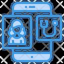 Assistance Health Checkup Smartphone Icon