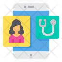 Assistance Health Checkup Smartphone Icon