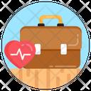 Medical Bag Doctor Bag Doctor Briefcase Icon