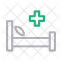 Medical Bed Icon