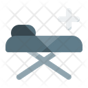 Medical Bed Stretcher Patient Bed Icon