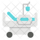 Medical Bed Patient Hospital Icon