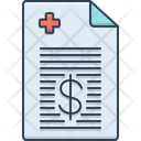 Medical Bill Medical Bill Icon
