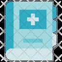Pharmacy Book Medical Icon