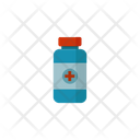 Medical Bottle Syrup Pill Bottle Icon