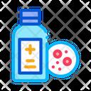 Medical Bottle Dermatitis Icon