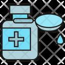 Medical Bottle Spoon Medicine Icon