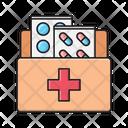 Pills Drawer Medicine Icon
