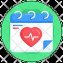 Planner Reminder Medical Calendar Icon
