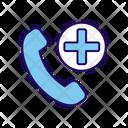 Medical Call Emergency Call Medical Phone Icon
