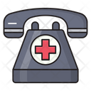 Telephone Helpline Hospital Icon