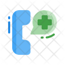 Flat Emergency Hospital Icon